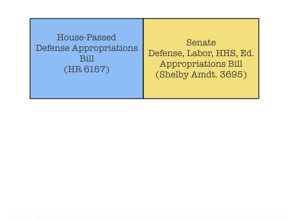 Shelby offers Senate minibus to HR 6157.