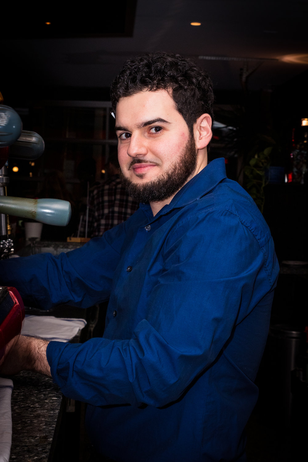 Christoper Spataro - Co-Owner, Salto Restaurant & Bar