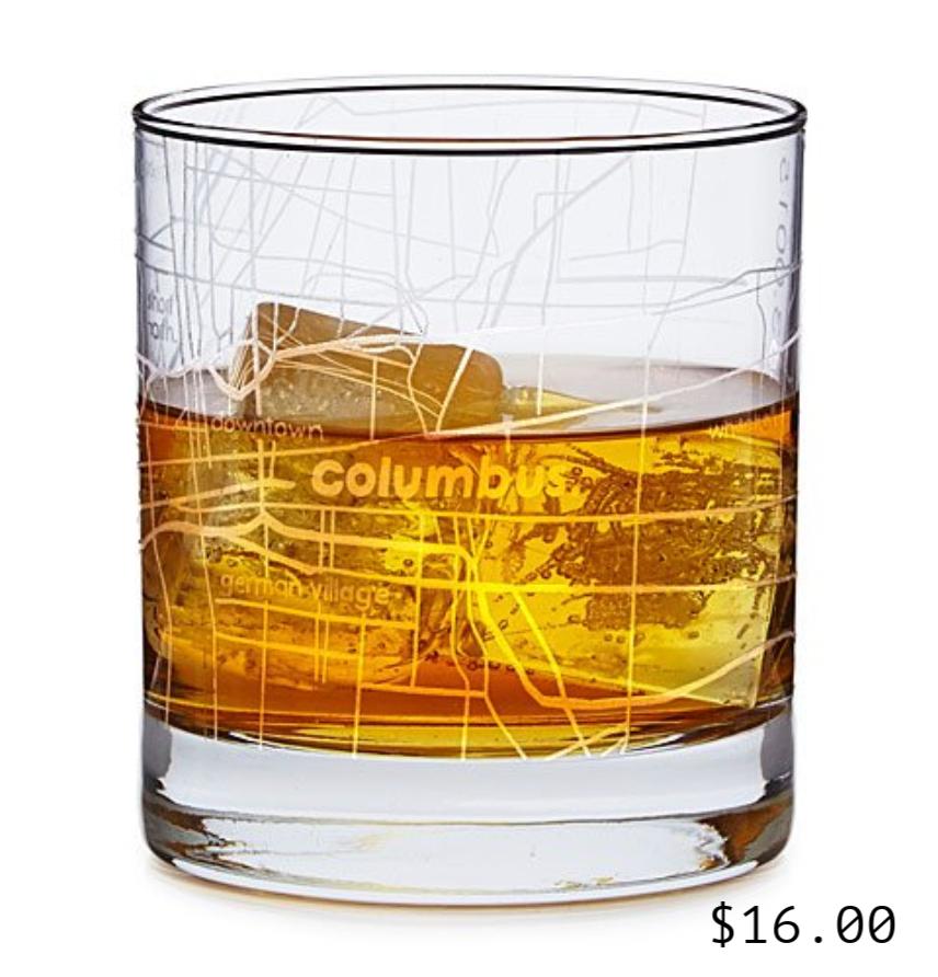 Cityscape Whiskey Glass