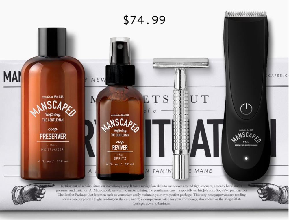 Manscaped Shaving Kit