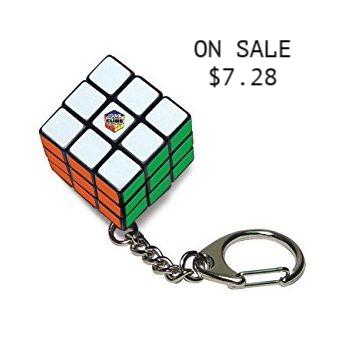 Rubix Cube Keychain