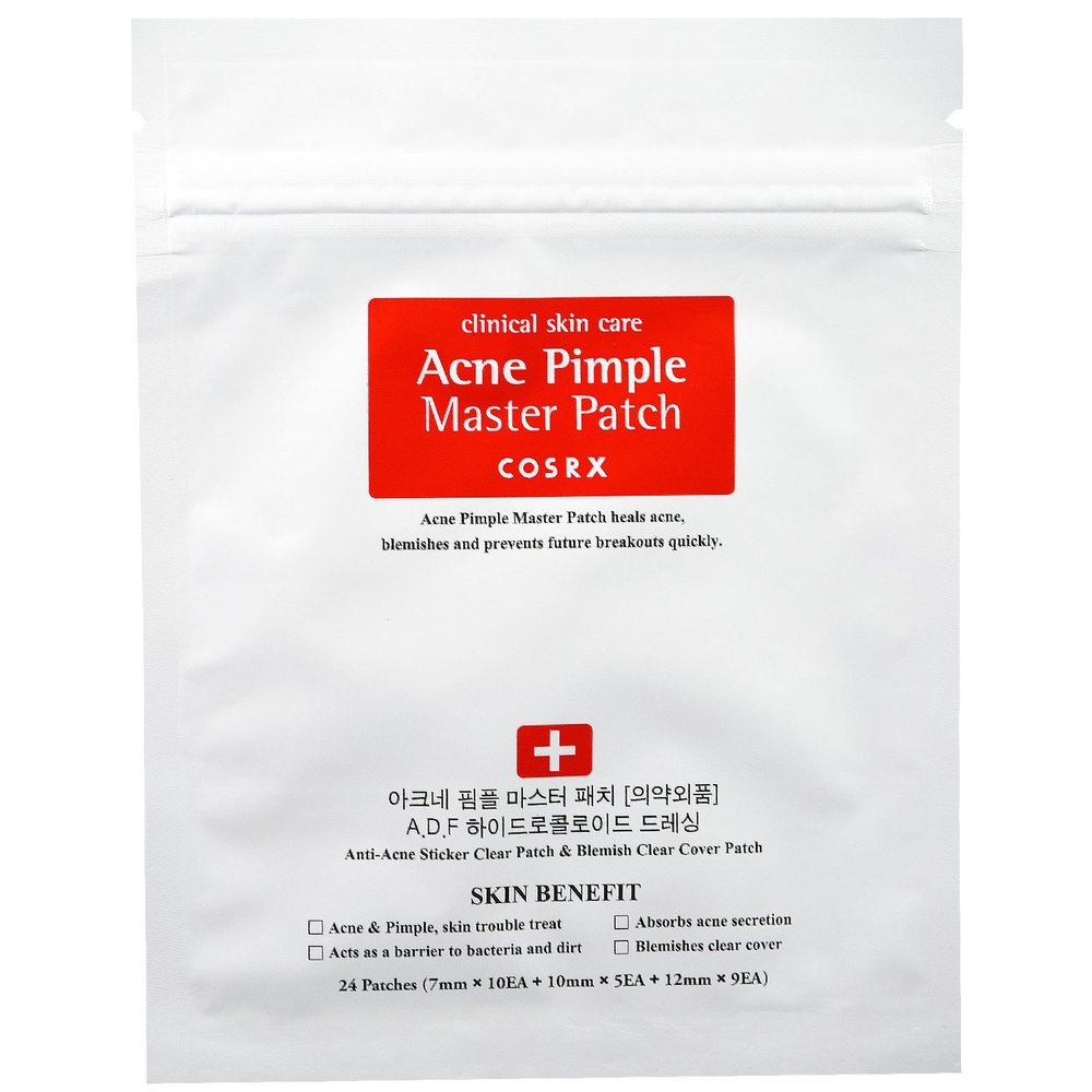 acne patches - This is another spot treatment that I've come to love in the past few months. It's the COSRX Acne Pimple Master Patches and they work wonders on white heads. I don't think they do much for acne that doesn't come to a little point the way white heads do, but they will pull so much gross gunk out of your white heads. It's actually super disgusting, but also really satisfying that you can actually see them work. I love using these overnight. They stick on your face really well and work magic. I also will wear them for maybe 3 hours at a time if I'm hanging around at home. When I wear them during the day I like to change them out every once and a while. Definitely get these if you have a white head problem.