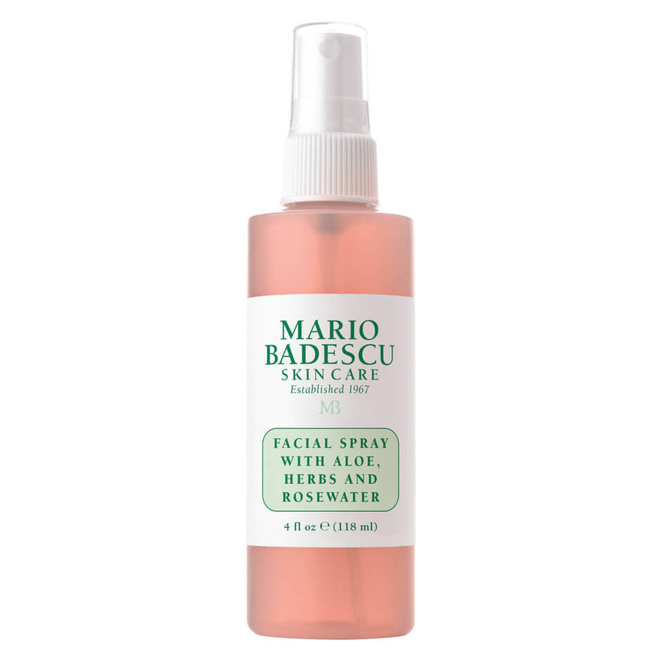 rosewater - This is more of a luxury item, but I do like having it on hand. I love the Mario Badescu rosewater spray for when my skin is feeling a little irritated. It's super calming and cooling and just makes you feel good. If your skin is bothering you, give it a few sprays and this will definitely help to calm it down. It can also reduce the redness in skin, so if you're like me and your skin can get pretty red, definitely give this a go.