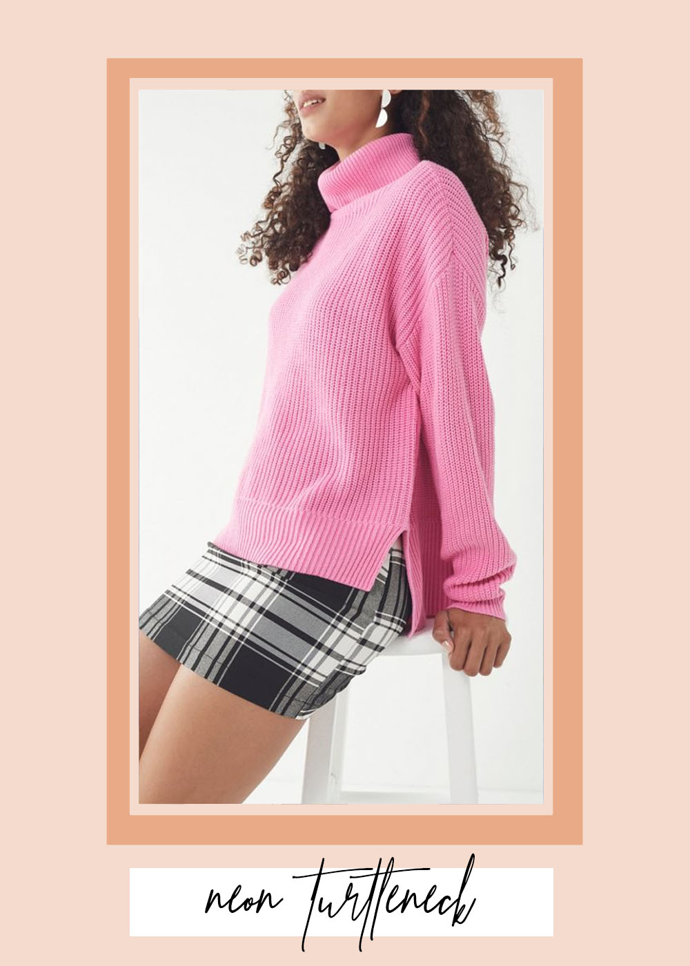 008. - UO PULLOVER TURTLENECK SWEATERUrban Outfitters // $59