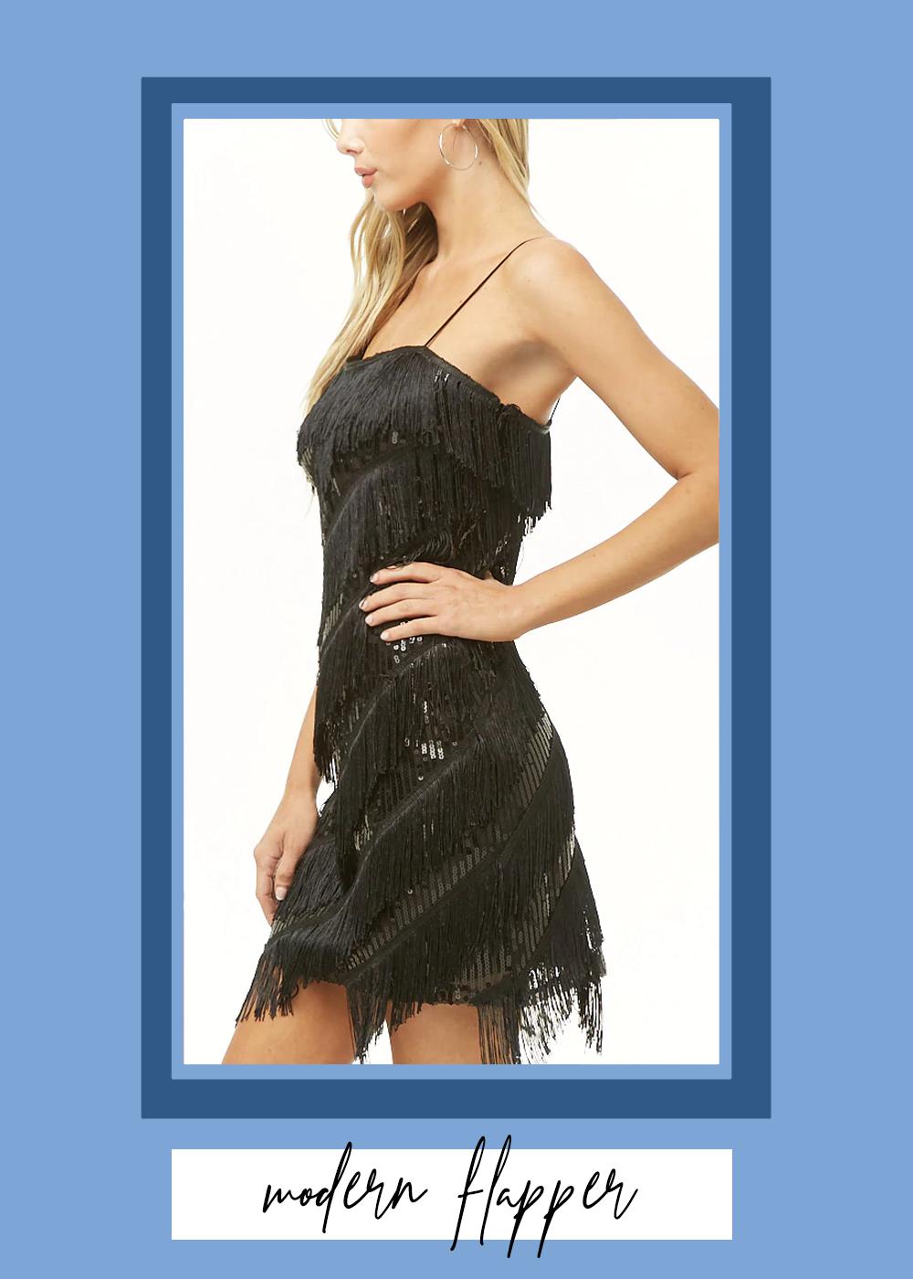 004. - Fringe and Sequin Mini DressForever 21 // $35