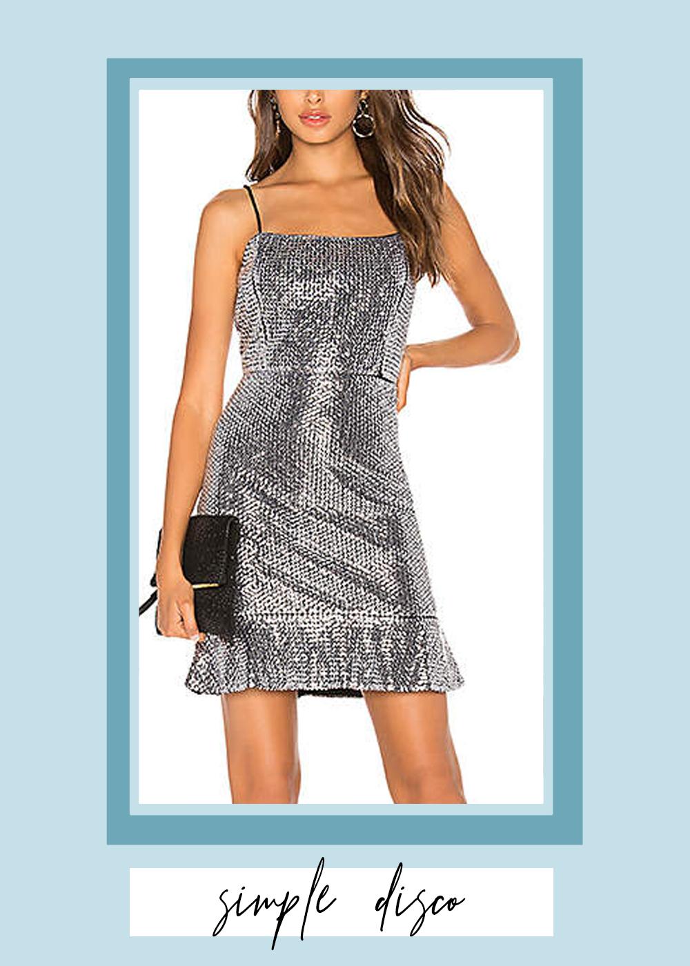001. - Sequin Mini Dress // $89