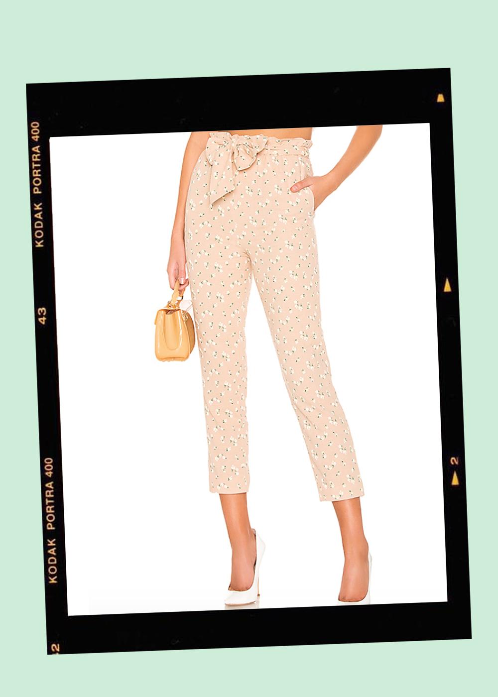 003. - Printed Crop Pants // $158Majorelle