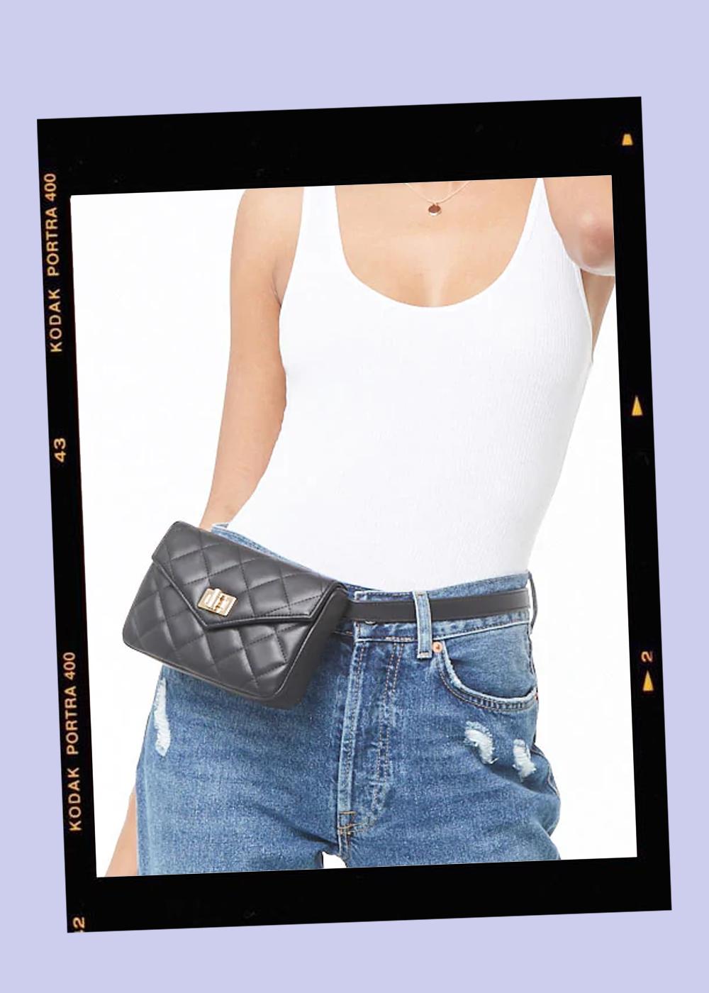 009. - Quilted Belt Bag // $18Forever 21