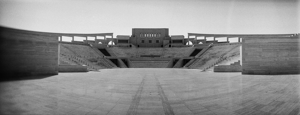 Katara's Amphitheatre  - Taken with the first roll of film I've used in over 3 decades!