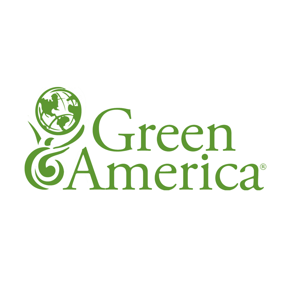 Valerie is a proud member of Green America.