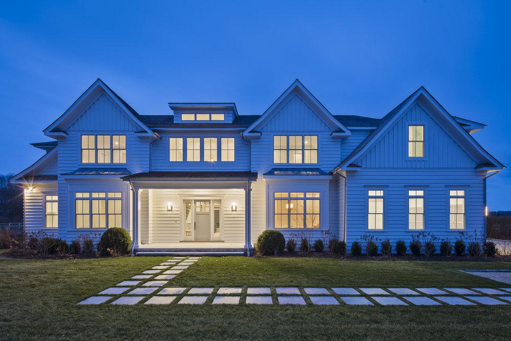 Hamptons Home in Water Mill by Custom Home Builder Breskin Development