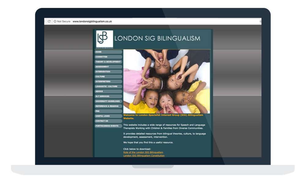 london sig bilingualism
