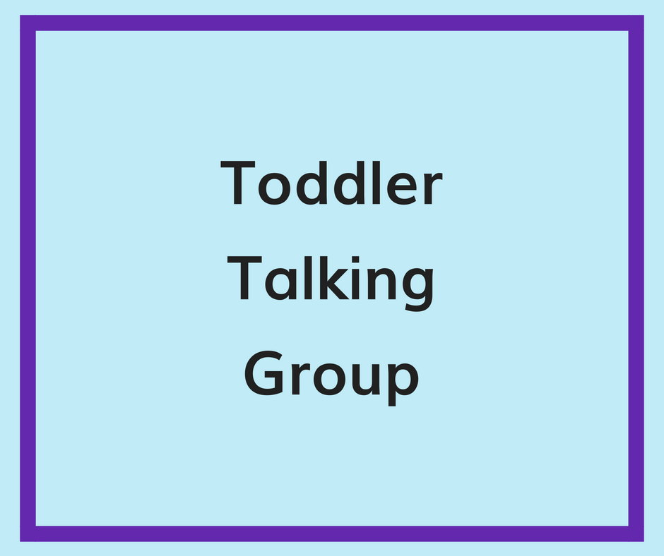 toddler talking group
