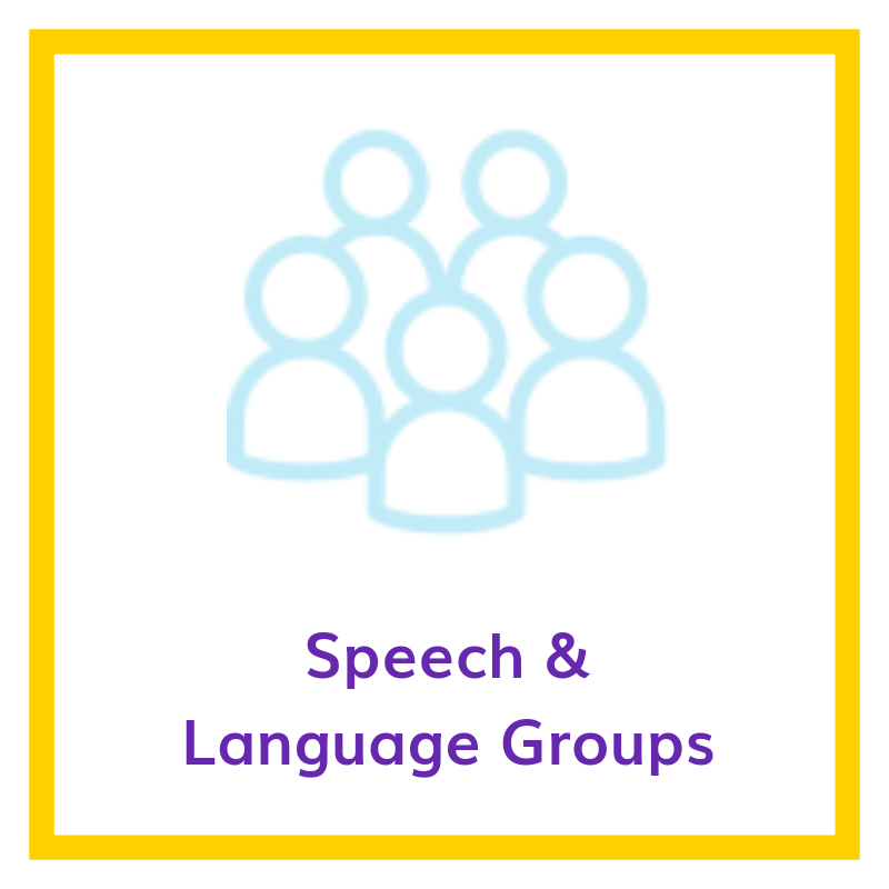 Speech & Language groups
