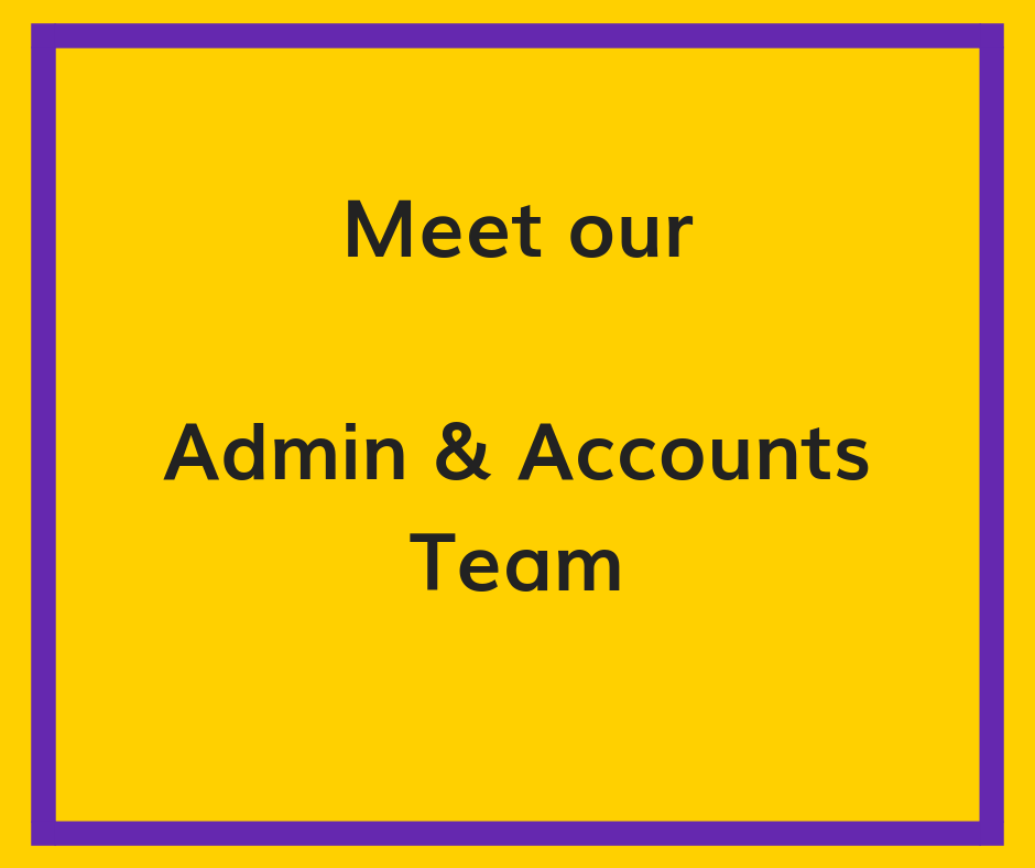 meet our admin and accounts team