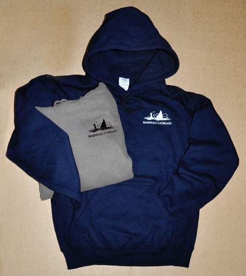 Sweatshirts - Adult: Gildan 9.3oz (midweight) DryBlend Hoodie with pouch pocket. 50% cotton, 50% Polyester. Pill resistant and double needle stitched with spandex ribbed cuffs and waistband. Small – 2XL. Navy and Sport Gray.$35.00Youth: Gildan Youth 8 oz. (midweight) HeavyBlend Hoodie with pouch pocket. 50% cotton, 50% Polyester. Pill resistant and double needle stitched with spandex ribbed cuffs and waistband. Medium – XL. Forest Green and Maroon$25.00