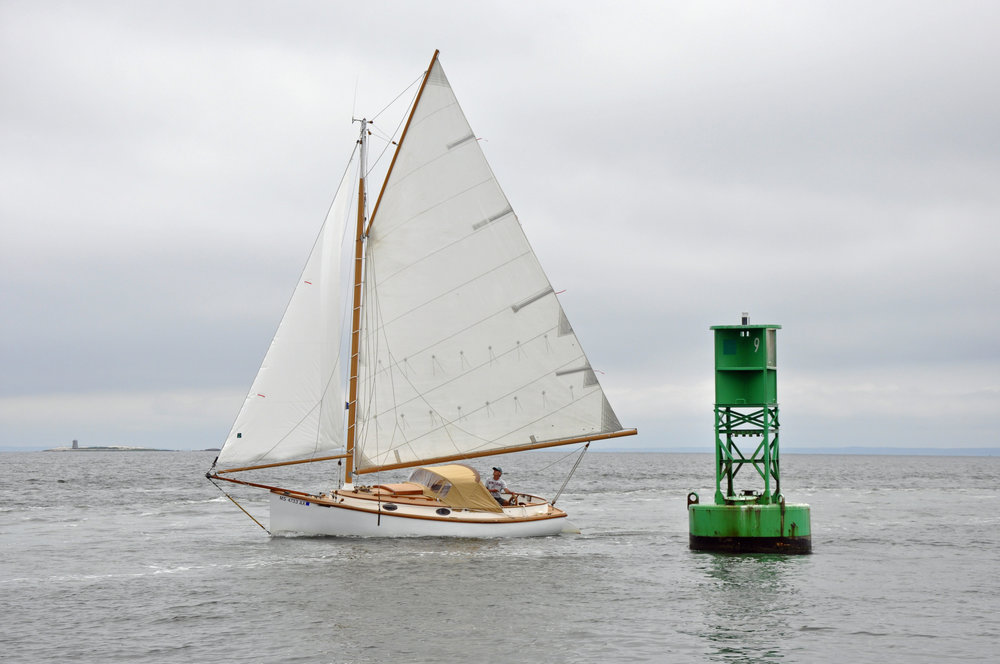 Marshall 22 Sloop Rig Photos