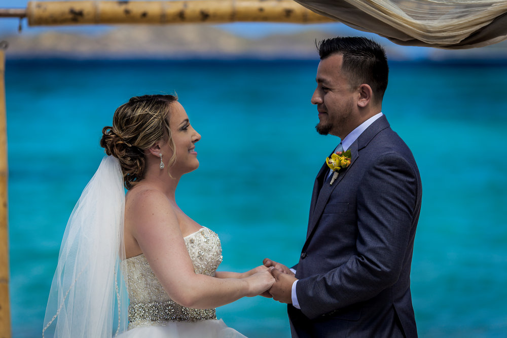 St. Thomas Destination Wedding - Eleny + Enrique