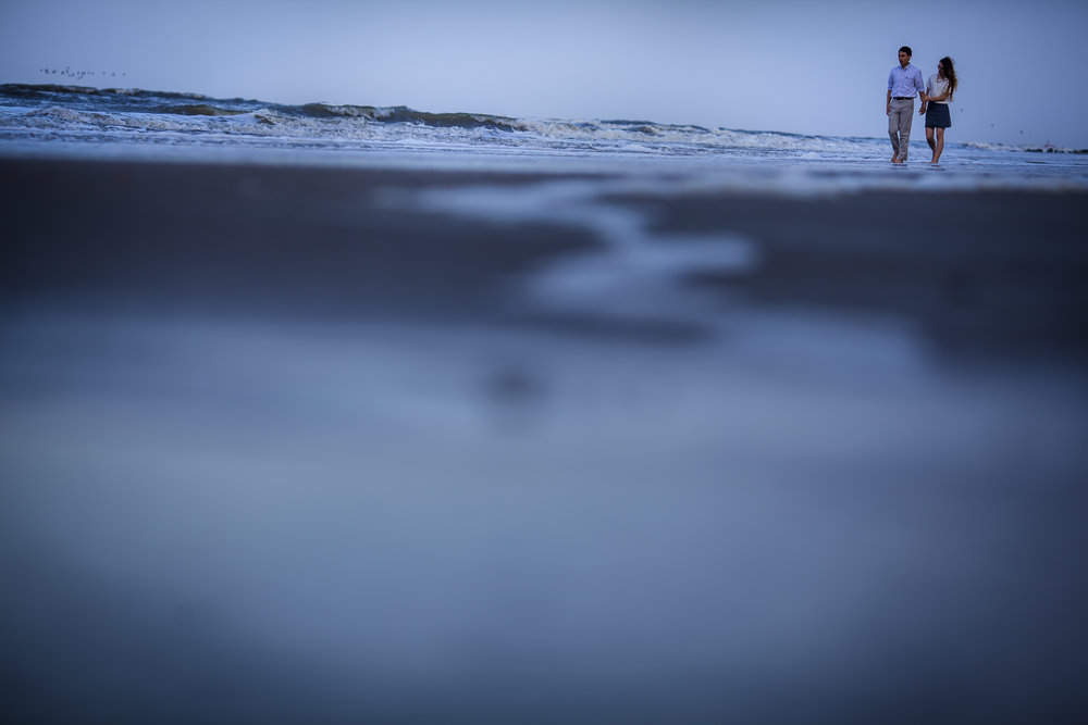 Tybee Beach Engagement - Rosalie + Mark