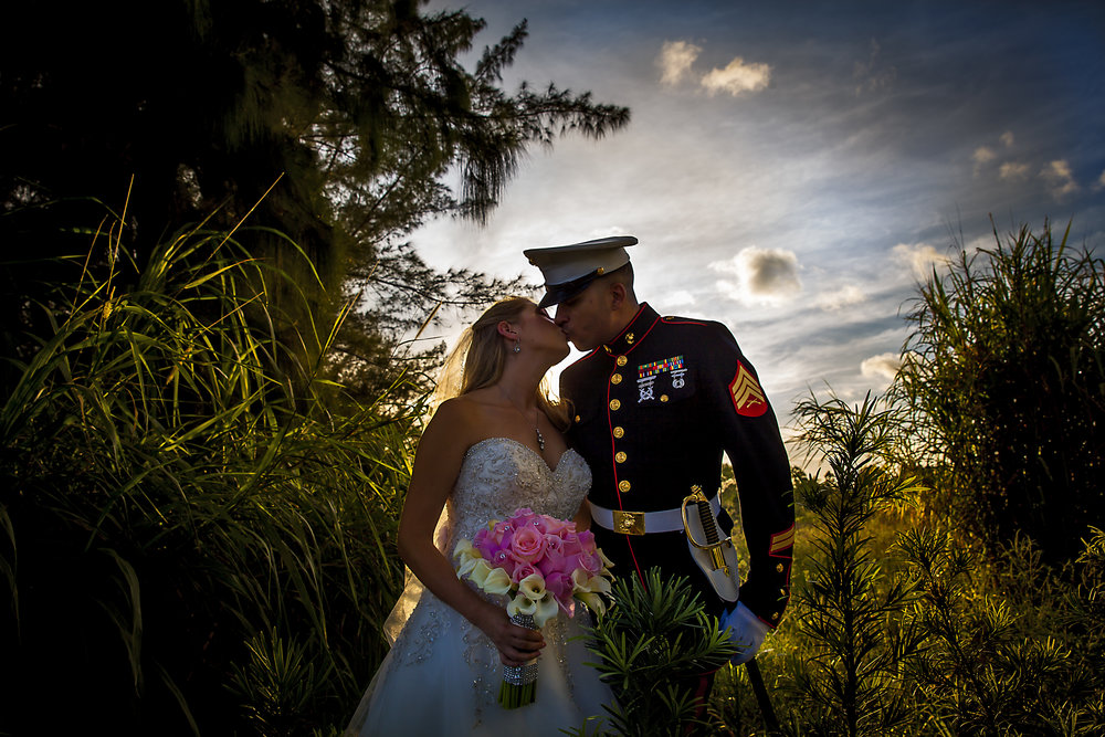 Military Wedding - Tara + Chris
