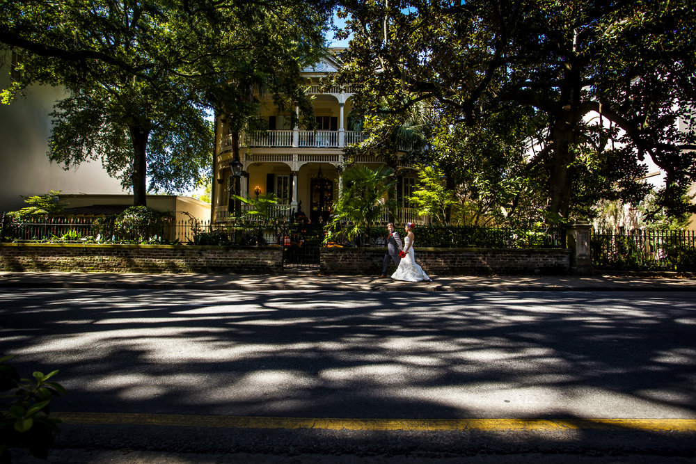 Brianna + Sean - The Gastonian Savannah Elopement