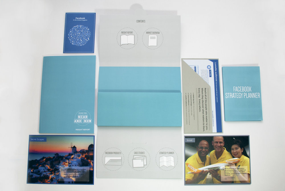 Facebook Travel Pack, contents