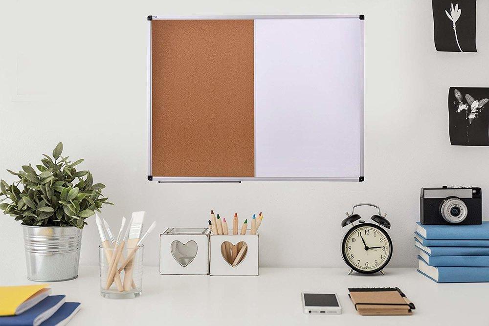 Cork & White Board -