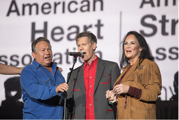"Country music legend (and stroke survivor) Randy Travis sings ""Amazing Grace"" at his first public performance in Texas post-stroke."