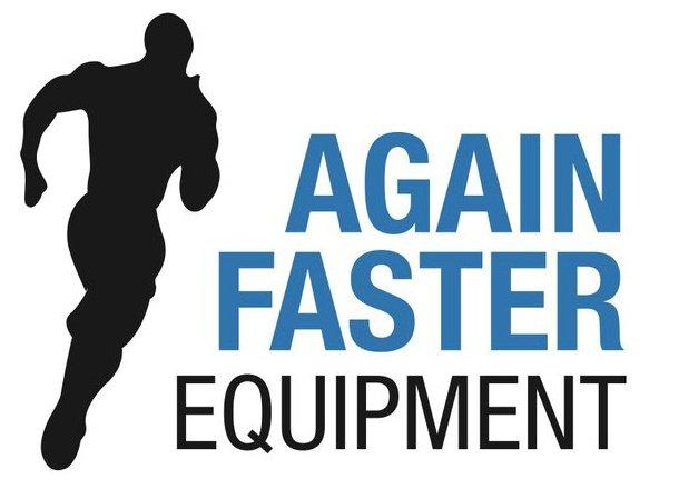 Again Faster square logo