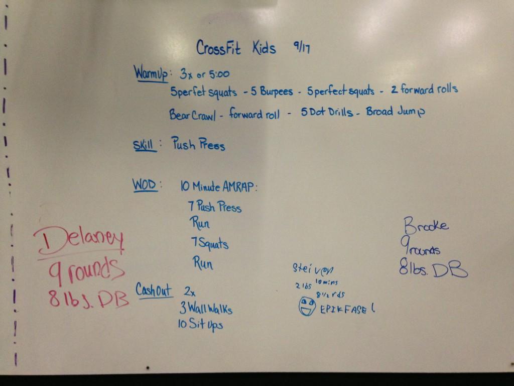 board 9:17 kids