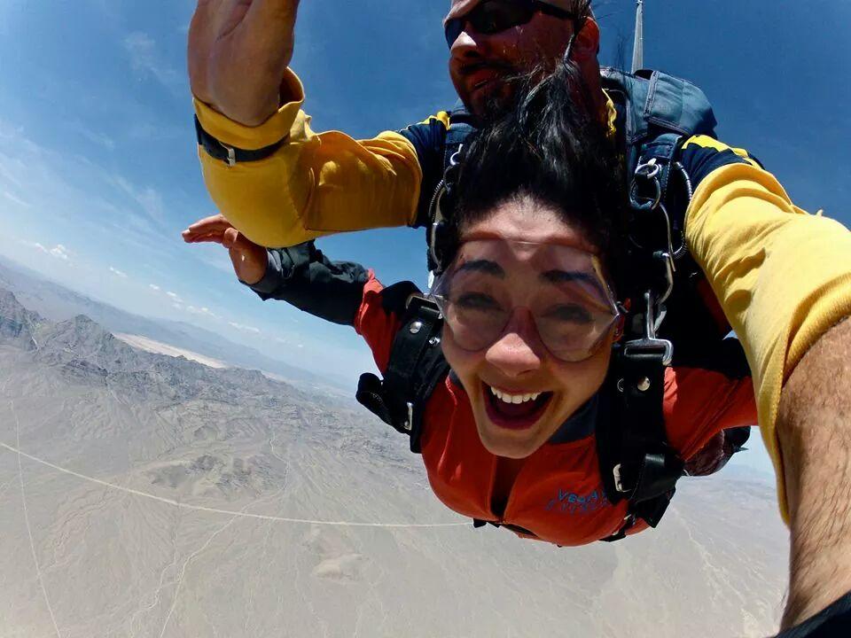 Amanda D Sky Dive