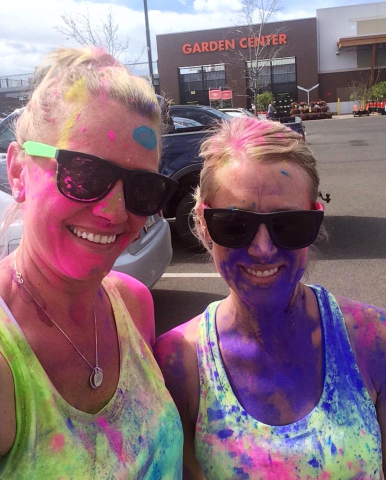 Angie Color Run
