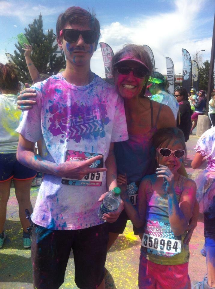 Heather Color Run