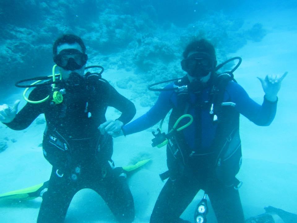 Kristin Dave Hawaii Dive
