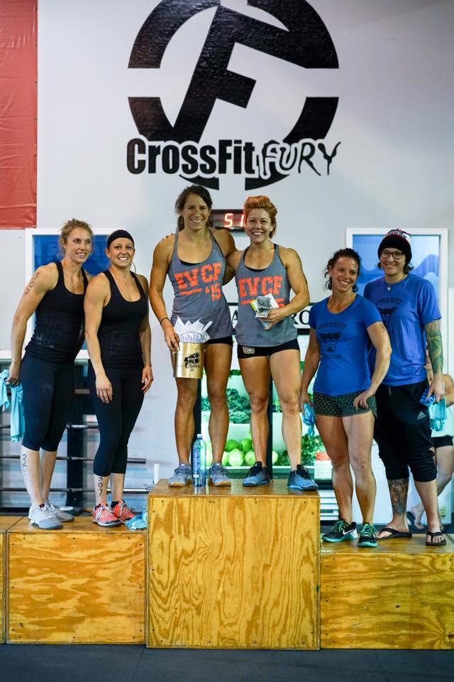 Fury podium