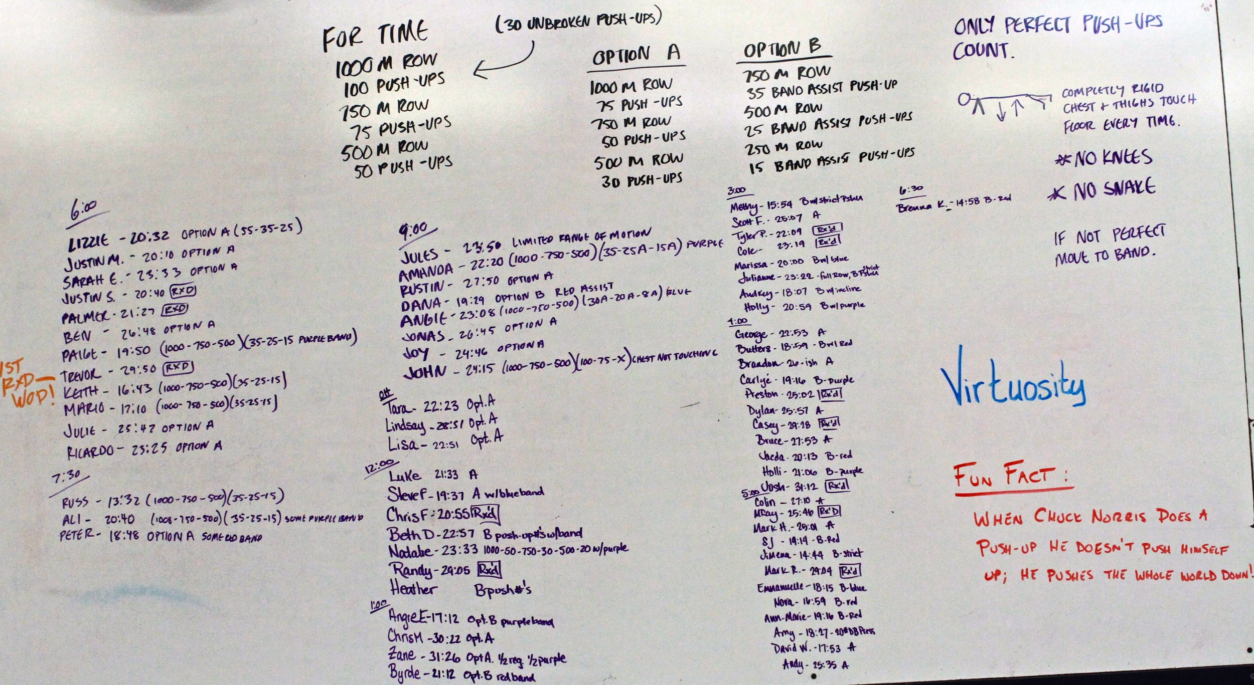 Row and Push — CrossFit Flagstaff