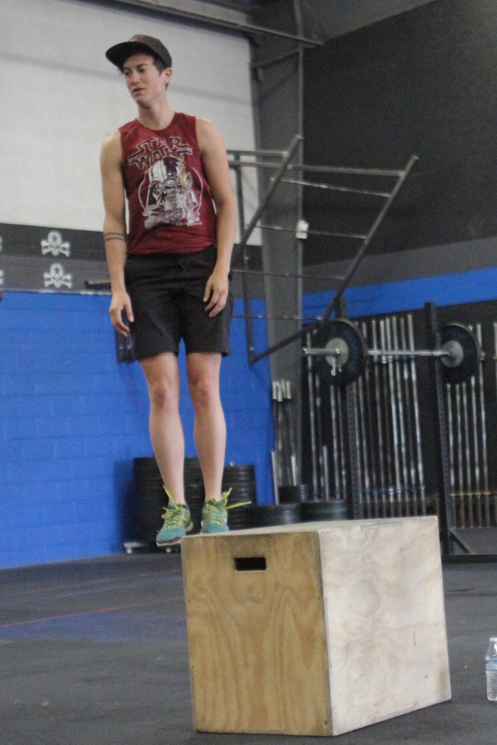Meanwhile…Megan is levitating to her box… No Big Deal.