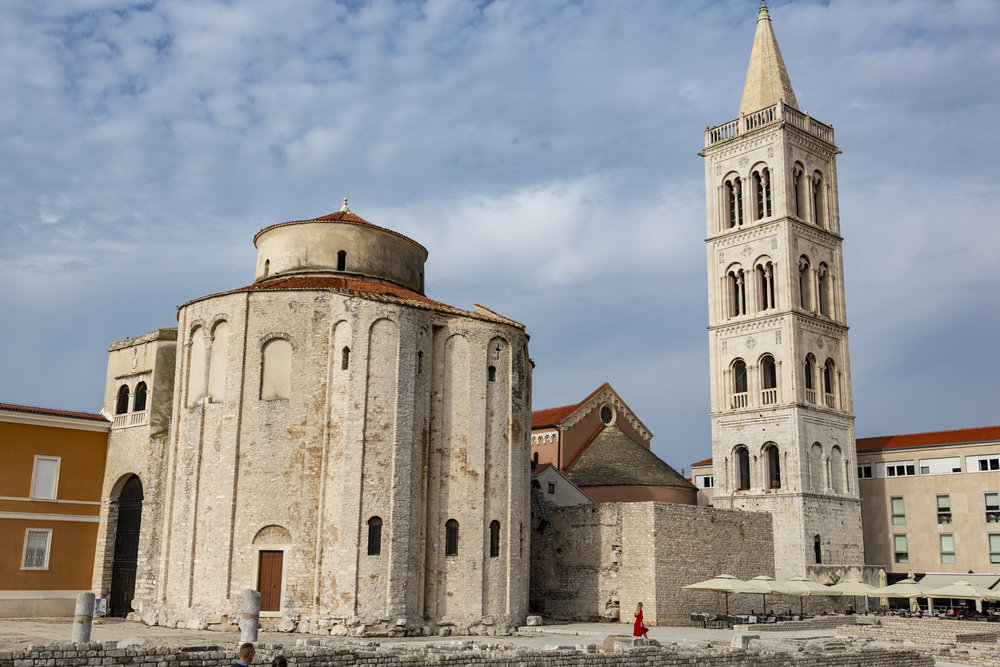 UNESCO World Heritage Sites in Zadar town