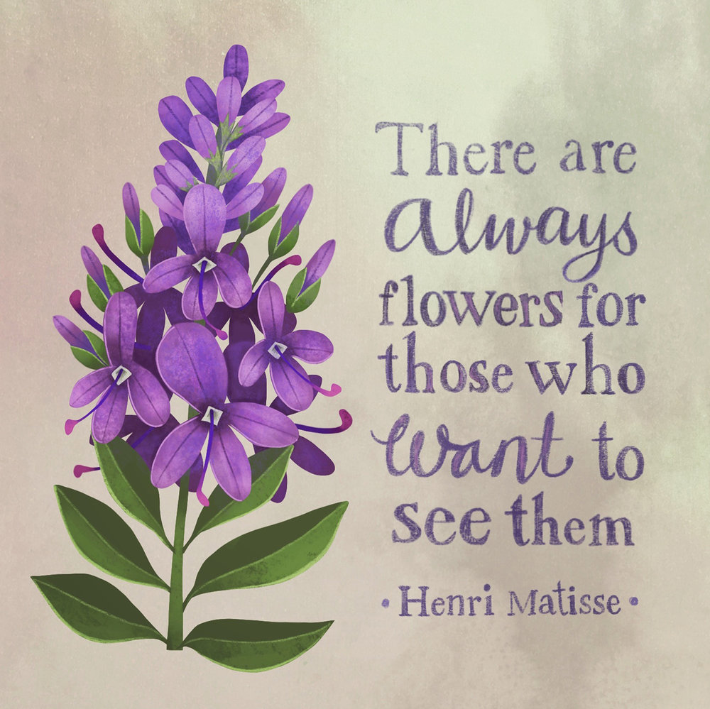 There Are Always Flowers...