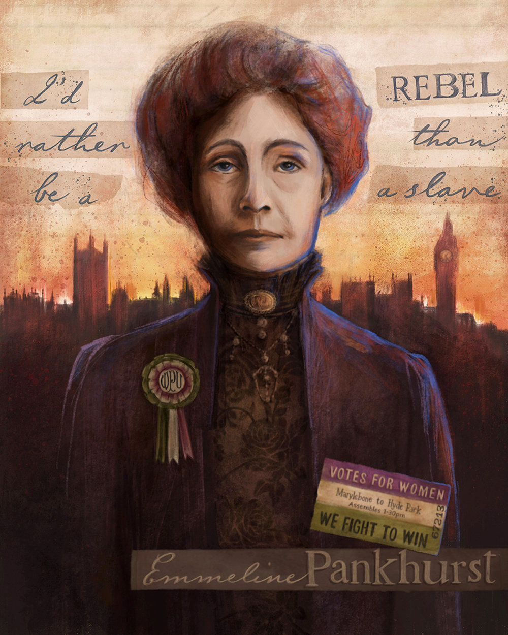 Rebel - Emmeline Pankhurst