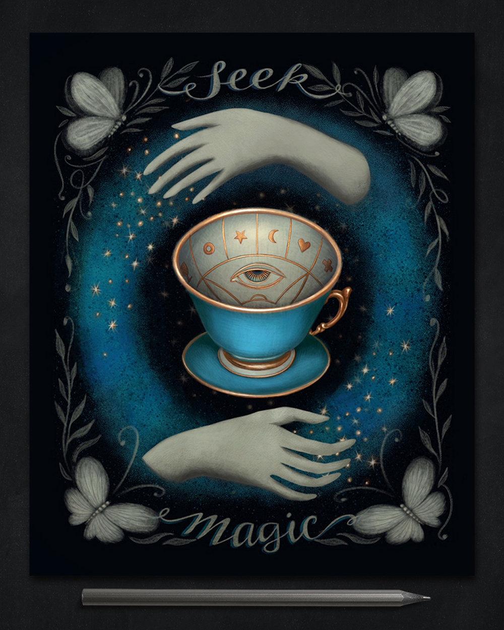 Seek Magic - Journal Cover