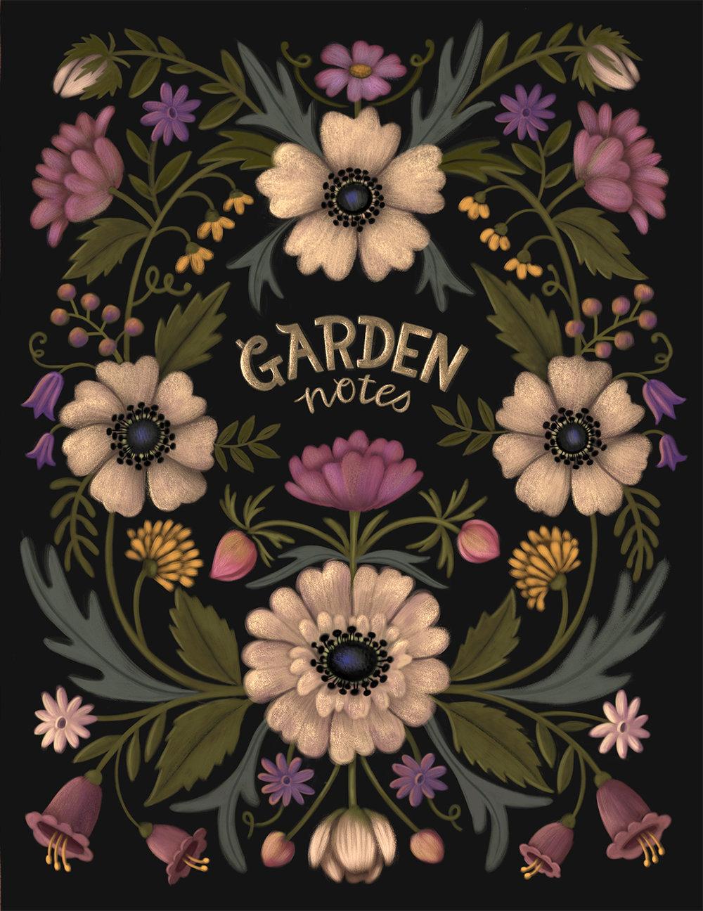 Garden Notes - Journal Cover