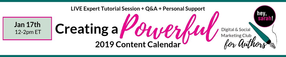 FREE SESSION • January 17th 2018, 12pm-2pm ET •  Join now!