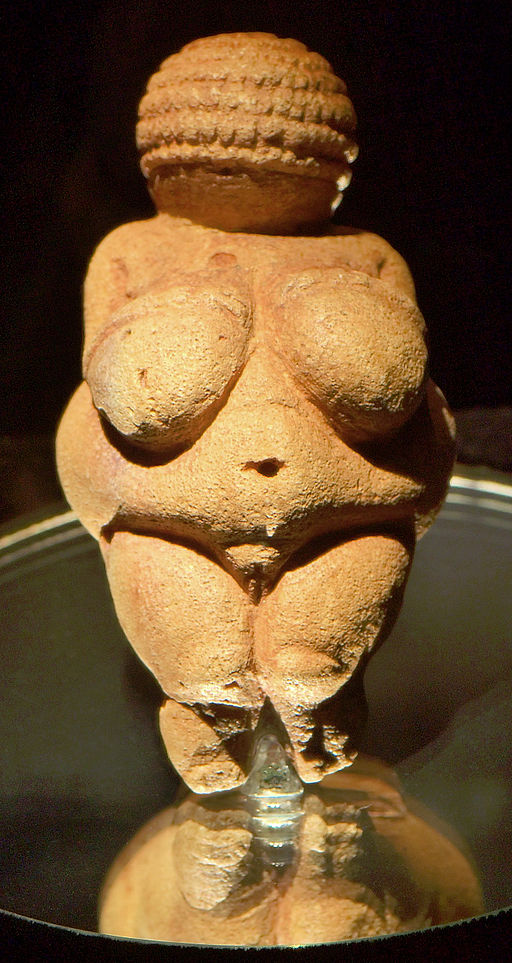 T he Venus of Willendorf  - Artist unknown: c. 28,000 BCE – 25,000 BCE.