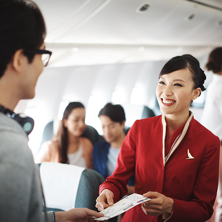 How Cathay Pacific is helping leaders embrace customer centricity  - Cathay Pacific Airways is an international airline that believes in helping their passengers travel well. The flagship carrier of Hong Kong, they fly to over 180 destinations around the world together with Cathay Dragon.