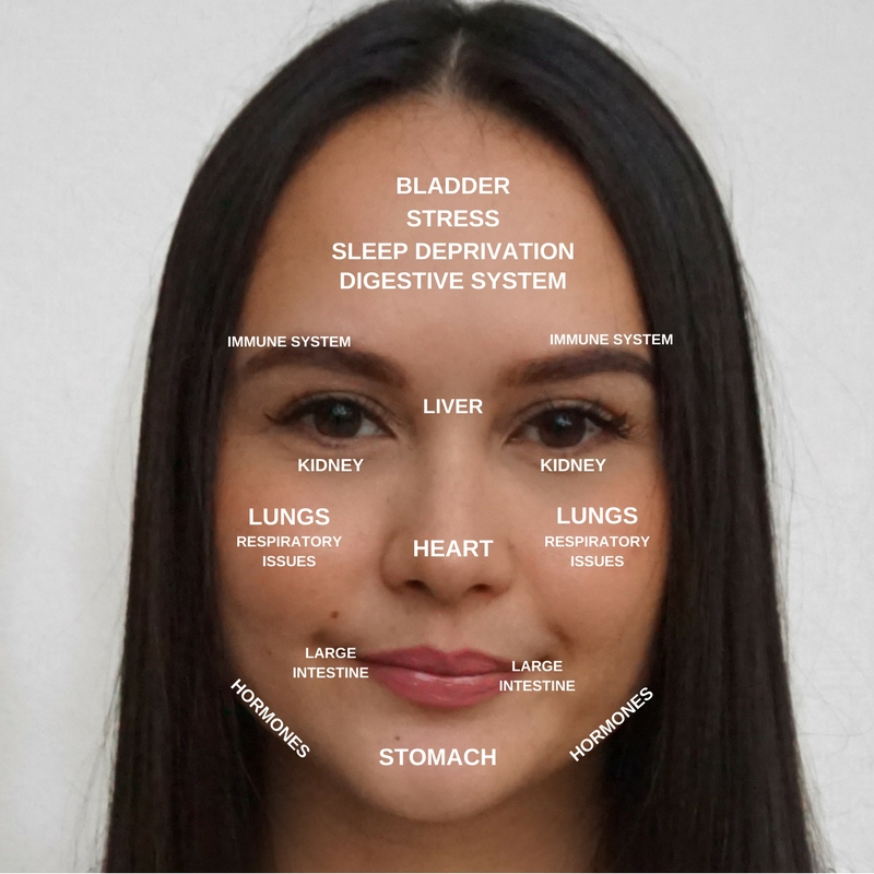What your Breakout is telling YOU - Chinese Face Mapping — Crystal's Chinese Face Map on