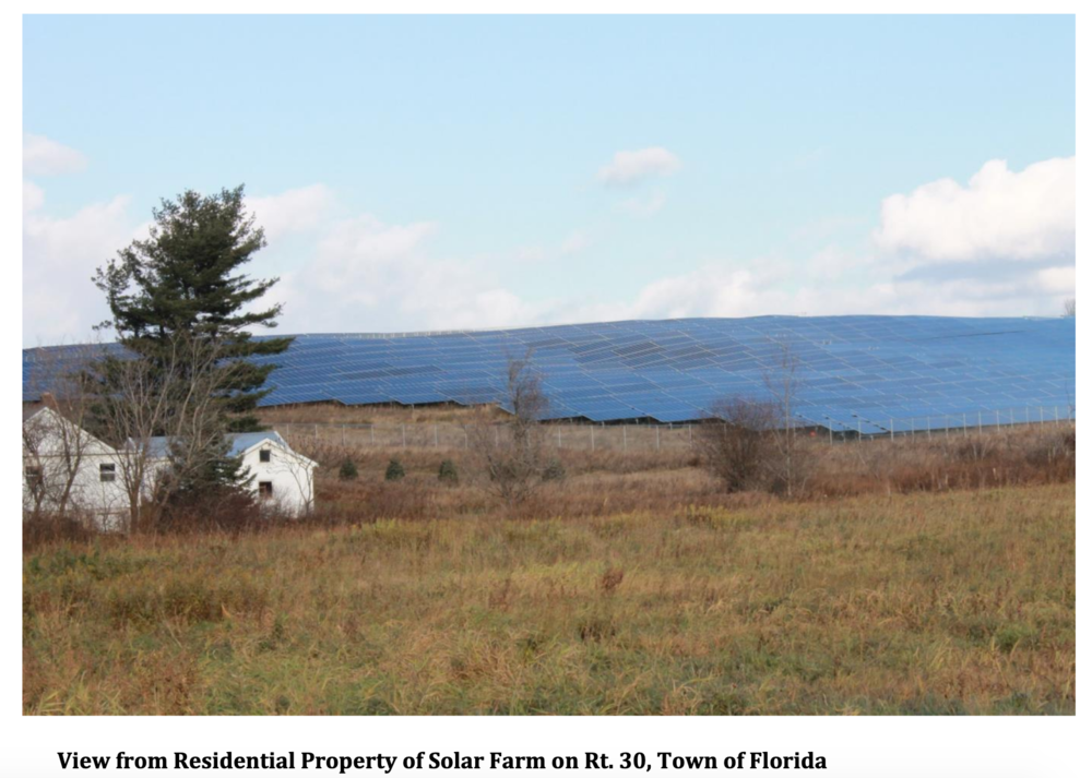 Photo courtesy of Citizens for Responsible Solar Farm Placement