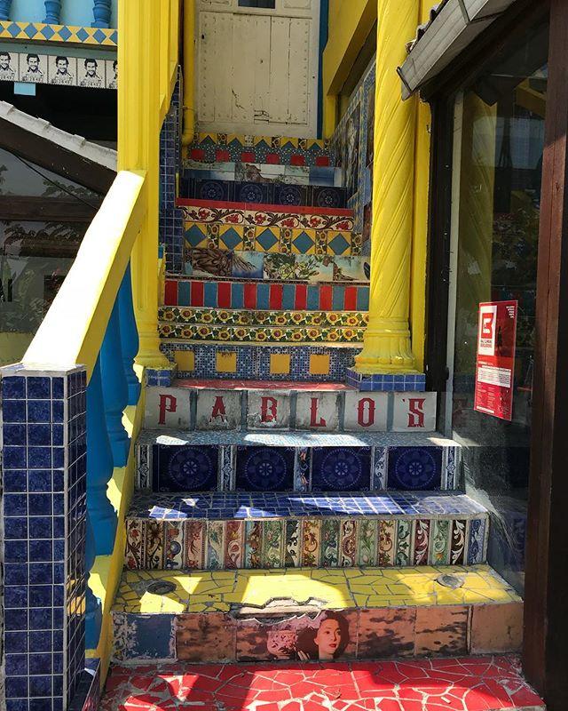 Colour, texture, tiles Canggu . #colour #texture #tiles #happy #fun