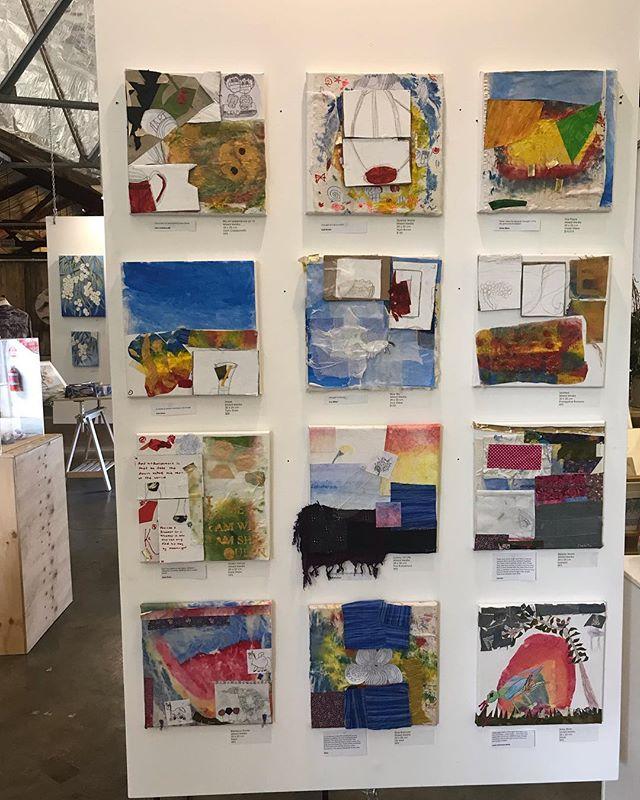 "Fleurieu arthouse exhibition of ""young artists"" @liam.caldersmith . #Mclarenvale #shoplocal #fleurieuarthouse"