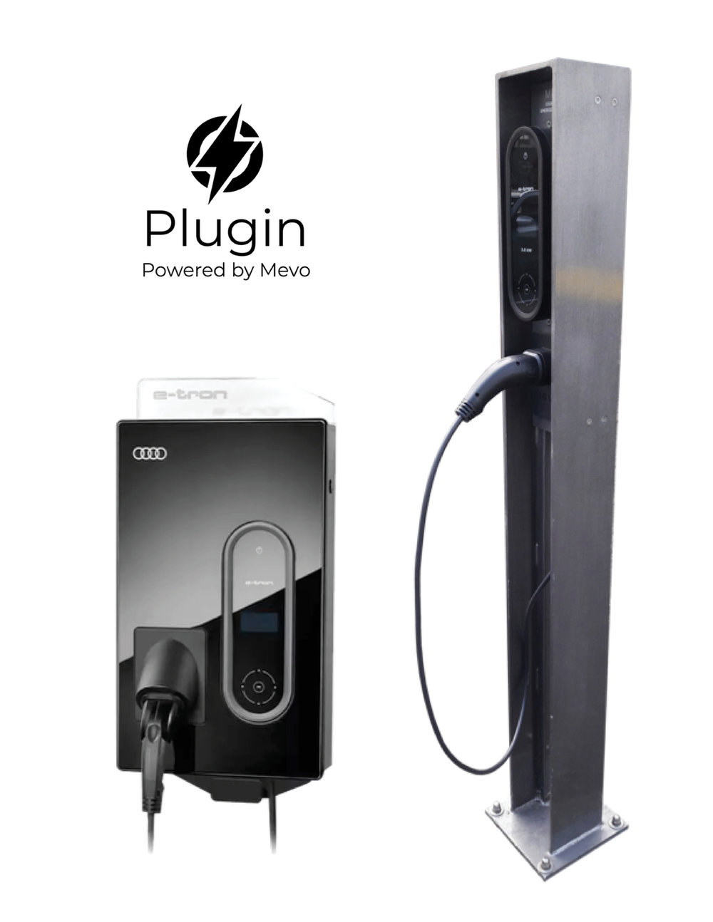 Charger specs: 16A @ 230V, single phase (3.6kW) type 2 EV plug (NZ standard). Higher speed chargers available on request. Chargers come in free-standing and wall amount formats.